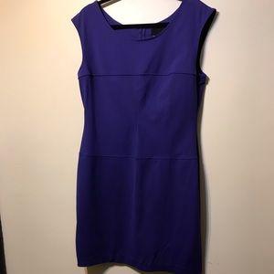 Purple sleeveless dress ,